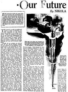 EDN - Nikola Tesla slideshow: Images and articles from Tesla's writings Tesla 3 6 9, N Tesla, Tesla Coil, Tesla Technology, Science And Technology, Nikola Tesla Patents, Nikola Tesla Inventions, Nikola Tesla Quotes, Nicolas Tesla