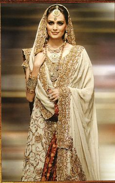 Gold bridal