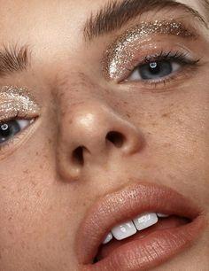 beauty Shoot glitter - Our Vegan friendly Skin Base creates the perfect canvas & Glam Makeup, Makeup Inspo, Makeup Art, Makeup Inspiration, Makeup Tips, Eye Makeup, Hair Makeup, Dress Makeup, Makeup Salon
