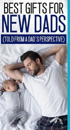 think about what kind of new dad gifts you can give your partner so that he remembers this day forever. You can't be sure he will unless he gets gifts, right? Isn't that what birthdays are for? If you're looking for awesome new dad gifts - look no further. This post was written by a dad of two who understands the struggles that go along with new fatherhood.