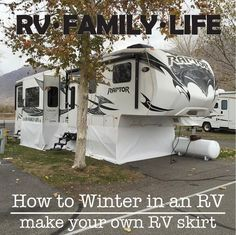 rv skirt logo More Camper Life, Rv Campers, Rv Life, Happy Campers, Bus Camper, Do It Yourself Camper, Rv Trailers, Vintage Trailers, Vintage Campers