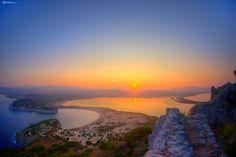 Rising Sun above Voidokilia, Messinia, Greece Greece, Sunrise, River, Celestial, Rising Sun, Outdoor, Beautiful, Landscapes, Viajes