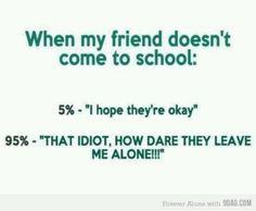 All thru high school