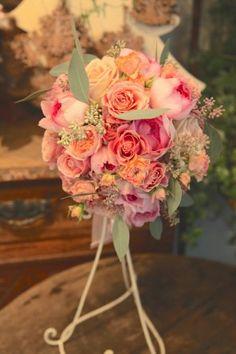 ラウンドブーケ/バラ/ピンクイブピアッジェhttp://www.hanadouraku.com/bouquet/wedding/ hanadouraku