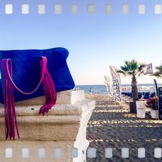 Shining colors on the beach with this It-Bag by Heart Entry!
