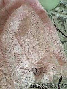 Antique Edwardian White Crochet Lace Blouse Shirtwaist 108