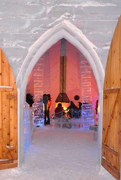 Ice Hotel, Quebec Canada