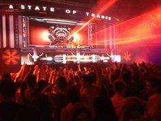A State Of Trance by DJ Armin Van Buuren — at Privilege Ibiza.