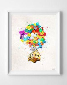 Balloon House, Up Print