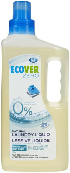 Ecover Laundry Con Free & Clear, 51 oz - Free Shipping