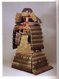 O-yoroi, old style samurai armor.