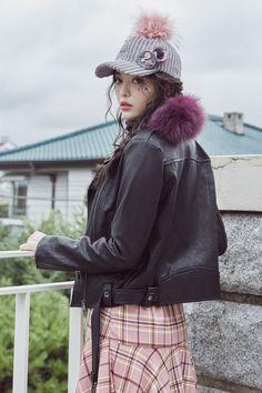 시크한스푼 라이더자켓 CHLO.D.MANON   Shop feminine & adorable Korean clothing, bag, shoes, acc for an instant charm!