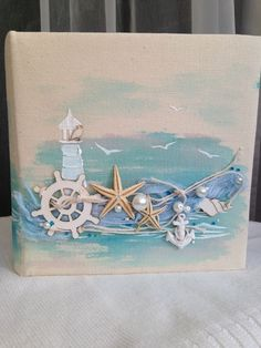 Best 12 Beach Decor of Seashell Art, Beach Bathroom Decor Wall Hanging, Coastal Wall Art of Shells on Glass, Coastal Decor of Seashell Glass Art by on Etsy by lucia – SkillOfKing. Sea Crafts, Diy And Crafts, Arts And Crafts, Seashell Art, Seashell Crafts, Deco Marine, Beach House Decor, Home Decor, Beach Art