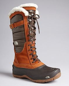 The North Face® Tall Lace Up Cold Weather Boots - Shellista Luxe | Bloomingdale's