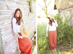 """Protecting our skin with """"gardeners"""" inspired clothing 