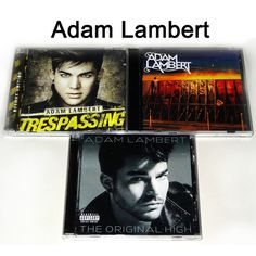 FOR SALE -ADAM LAMBERT-- The original high+Trespassing +Beg for mercy   New Sealed CD