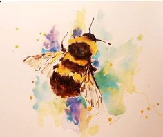 watercolour animals by alison fennell