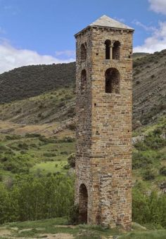Yanguas, Soria - Torre románica de la desaparecida iglesia de San Miguel