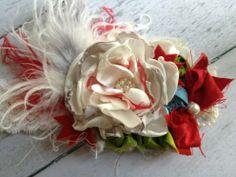 Vintage Jubilee Couture Flower Headband