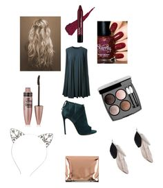 """Blue"" by torilindseyrosella on Polyvore featuring CO, Chanel, Maybelline, MM6 Maison Margiela and Casadei"