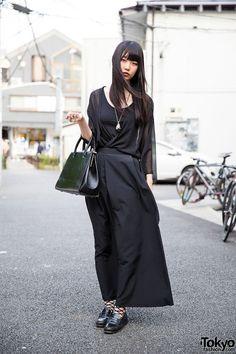 tokyo-fashion: 20-year-old Murata on the street...