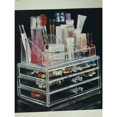 Acrylic Cosmetic/Jewelry ORGANIZER Extra large Makeup Brushes & Tools