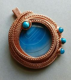 Artisan Wire Wrapped Wire Woven Wire by SparrowSongInDesign