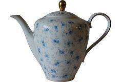 Vintage Porcelain Bavarian Teapot