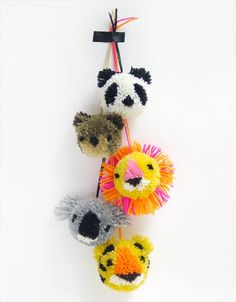 56 Easy To Make Craft Ideas With Pom Pom | DIY to Make                                                                                                                                                                                 More