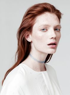 bienenkiste: Kristin Zakala for Clear beauty project by Ekaterina Novinskaya