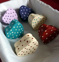 Heart Shaped Box  Ideal for Small Keepsakes by CleverleyCrafted, £2.50