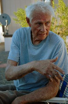 Layton Kor at his home in Kingman, Arizona, in April 2009. Photograph by Stewart M. Green.