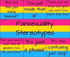 ugh this is true, we do get told this but it's okay because us pansexual are awesome 😉💗💛💙 Pansexual Pride, Lgbt Memes, Dibujos Cute, Lgbt Community, Gay Pride, Feelings, Prince, Tumblr, Equality