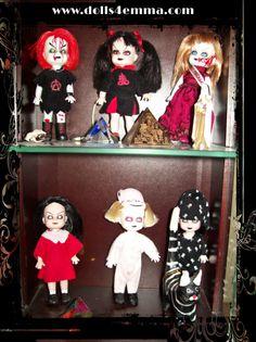 Living Dead doll minis
