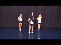 Chs jv cheer pep rally dance 2013 mvhs swagger jagger dance1 more