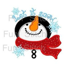 Let it Snow Appliqué Shirt by Rockinthetutu on Etsy www.etsy.com/shop/rockinthetutu  #letitsnowshirt  #FrostyTheSnowmanShirt by #RockintheTutu, $24.00
