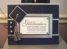 Graduation Card by dizzyd - Cards and Paper Crafts at Splitcoaststampers