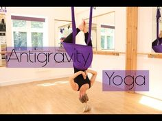 Aerial Yoga Flow Inspiration with Margie Pargie Antigravity Yoga Suspension Training Motivation TRX - YouTube