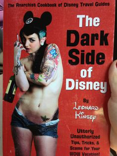 it tells you how to steal from the parks and where you can have public sex at the parks without getting caught and where you can buy drugs and other really depraved things you can do at Disney basically it's the least moral piece of literature I've ever seen in my entire life
