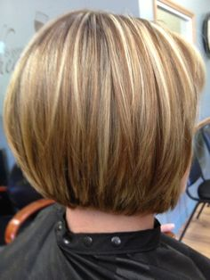 Inverted bob haircuts have become a new trend nowadays. Bob hairstyles that are easy to maintain and easy to remember can keep you out of trouble. Versatility and ease of care are the two biggest draws for all types of bob hairstyles. [Read the Rest] → Swing Bob Hairstyles, Swing Bob Haircut, Bob Haircut Back View, Blonde Bob Haircut, Bob Hairstyles For Thick, Bob Haircuts For Women, Pixie Haircut, Hairstyles Pictures, Haircut Pictures