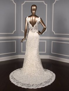 Mar 7 2020 This beautiful Liancarlo Couture 6851 wedding dress is made from luxurious Alencon lace. The front sleevel Wedding Dress Types, Sheer Wedding Dress, Wedding Dresses With Straps, Wedding Dresses For Sale, Designer Wedding Dresses, Bridal Gowns, Wedding Gowns, Lace Wedding, Contemporary Dresses