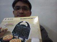 獅子心 圓型厚片鬆餅機 LWM-118,得標價格20元,最後贏家雷小鐵:低價得標獅子心 圓型厚片鬆餅機,感謝快標網讓我家人能吃到美味的鬆餅!!!