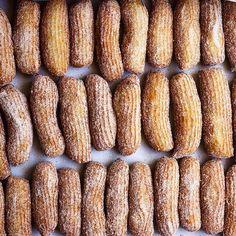 Homemade Churros via @feedfeed on https://thefeedfeed.com/baking-instagram/bread_babe/homemade-churros