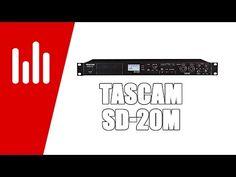 Tascam SD-20M: 4-Spur-Recorder für SD-Karten - http://www.delamar.de/eventtechnik/tascam-sd-20m-33243/?utm_source=Pinterest&utm_medium=post-id%2B33243&utm_campaign=autopost