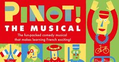 The Musical at New Wimbledon Studio Theatre Studio Theater, Learning French, London Theatre, Wimbledon, Musicals, Dancing, Comedy, It Cast, Tours