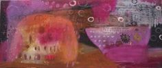 Pier Giuseppe Caalli - La Baia del Capitano Pink (olio su tela 70x30 - 2007)