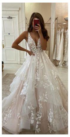Cute Wedding Dress, Dream Wedding Dresses, Mermaid Wedding Dresses, Ballgown Wedding Dress, Spring Wedding Dresses, Sweetheart Wedding Dress, Tulle Wedding, Floral Wedding, Bridal Gowns