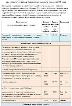 Собянин увеличил социальные выплаты с 2018 года — Российская газета