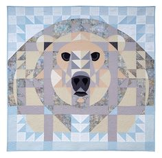 Polar bear quilt. This is incredible!!