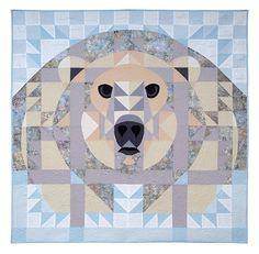 Ice Bear by Janet Fogg - Quilt Artist and Teacher
